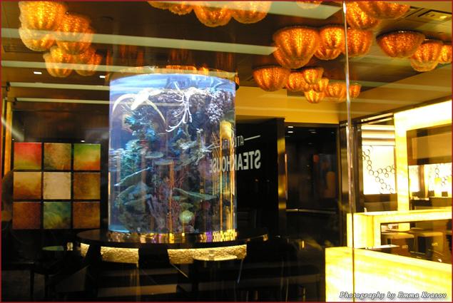 Newly open, lavishly decorated steakhouse at Atlantis Casino  Resort & Spa