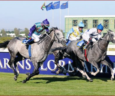 The L'Ormarins Queen's Plate race in Cape Town