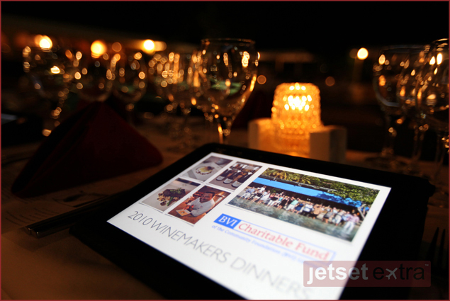 On location at the 2010 Winemakers Dinners