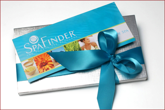 Spa Finder gift certificates can be used at 5,000 spas worldwide