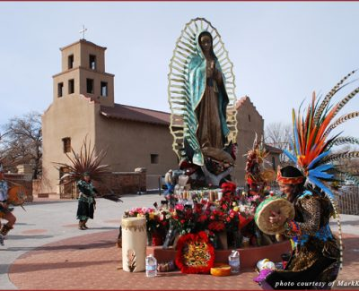 Dancers at Guadalupe Church