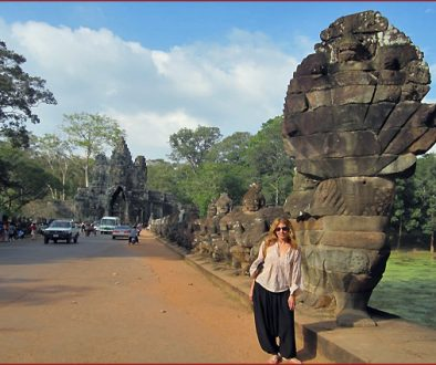 In Siem Reap, Cambodia