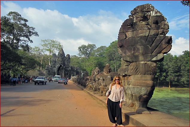 In Siem Reap, Cambodia