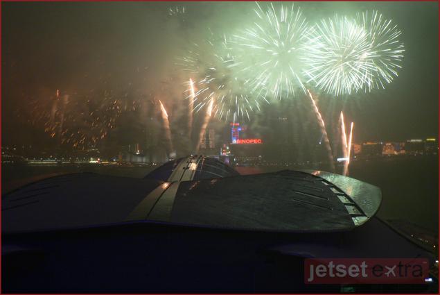 Hong Kong Lunar New Year Fireworks