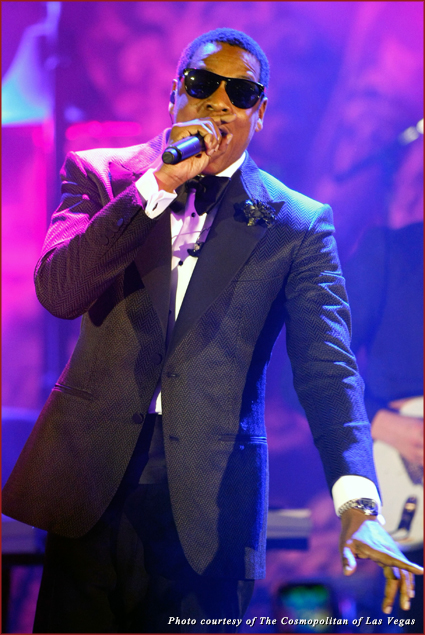 JAY-Z performs at The Cosmopolitan of Las Vegas - New Year's Eve and Grand Opening Celebration