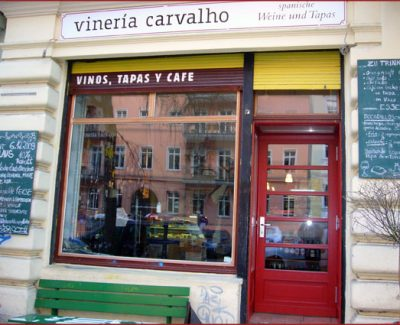 Vineria Carvahlo Front, Cute Spanish Bar and Cafe