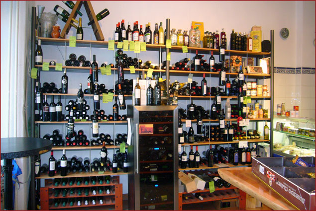 Vineria Carvahlo's selection of wines