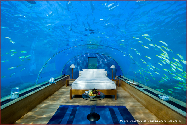 Conrad Maldives Underwater Suite