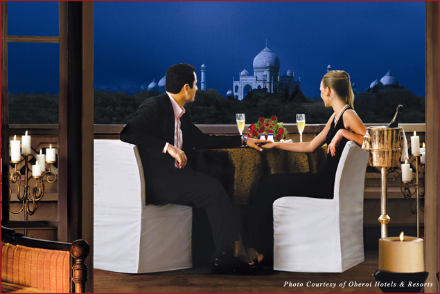 Dinner at Kohinoor Suite at The Oberoi Amarvilas Agra