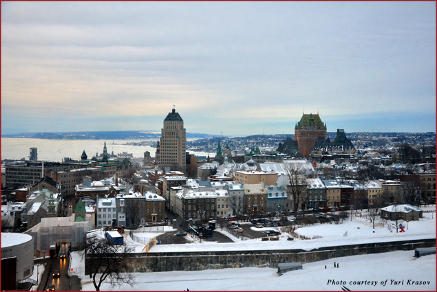 Quebec is lovely under its snow covers