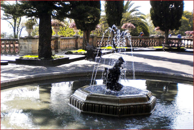 Fountain with a Grasshopper: