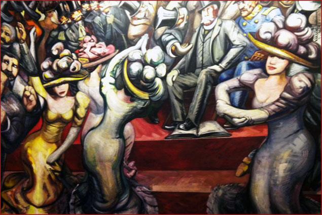 Siqueiro's Mural