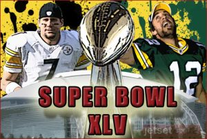 The Steelers vs The Packers in Super Bowl XLV