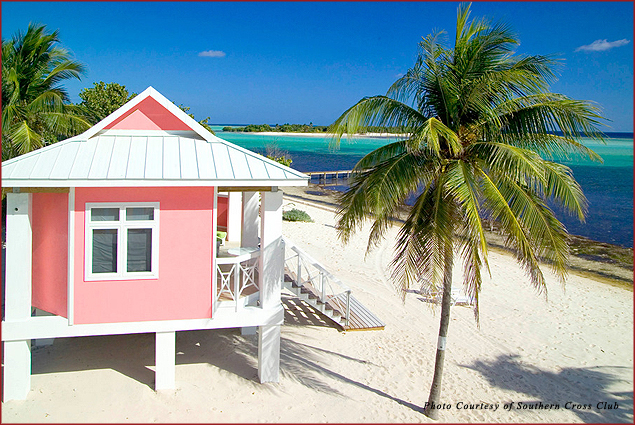 Enjoy ocean views at Southern Cross Club on Little Cayman Island