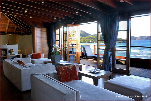 The Howard Hughes Suite at Eden Rock Hotel in St. Barths