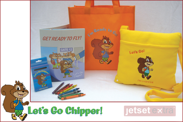 Lets Go Chipper - Get Ready to Fly travel kit
