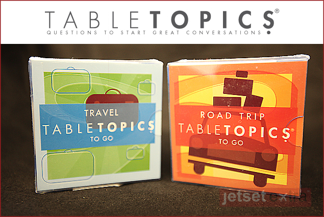 The Road Trip games by Tabletopics