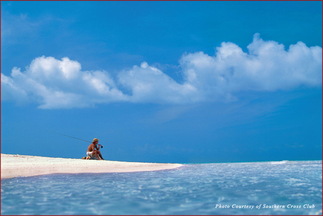 Another day at work in Little Cayman Island, Caribbean