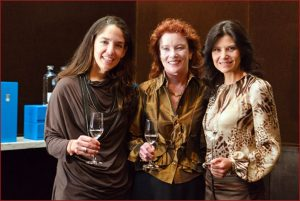 Bertha Gonzalez Nieves and Karen MacNeil, Chairman of the Wine Department at the Culinary Institute of America