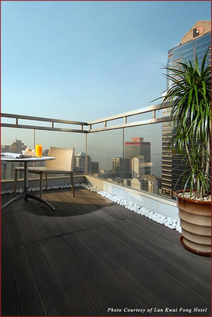 Harbour View suite balcony