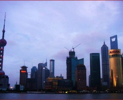 Shanghai, one of the wealthiest cities in China
