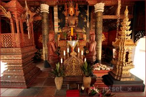 Suchet's antiques include the deity statues housed in the temple