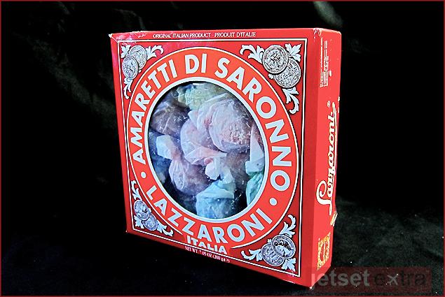 A box of Amaretti Di Saronno