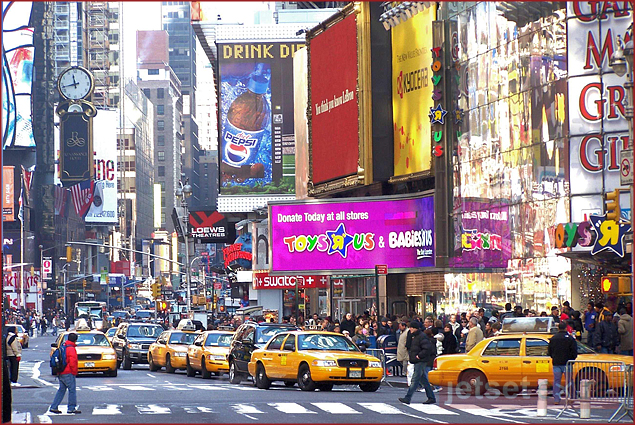 New York City's Times Square