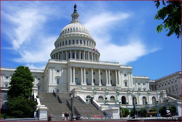 The U.S. Capitol building in Washington, DC