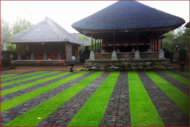 In Bali you have to claim a religion
