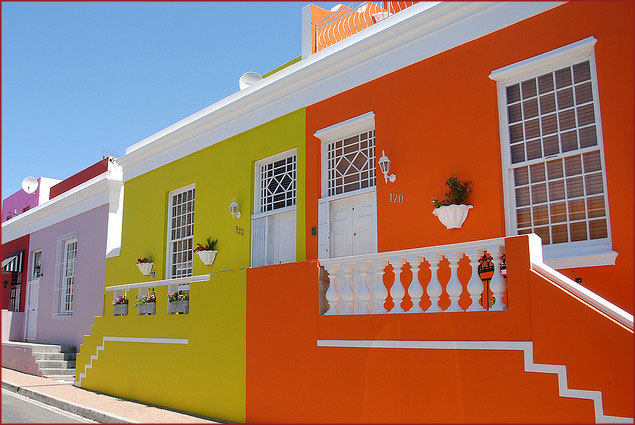 Cape Town's Bo Kaap suburb has long been a favourite for its natural sense of design