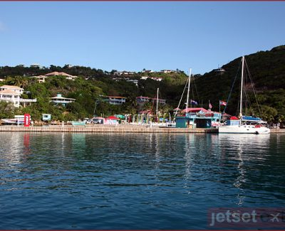 Leverick Bay Marina, home of the BVI Poker Run