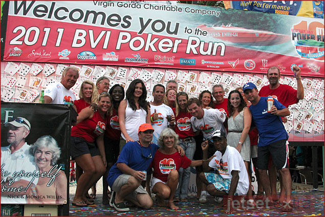 Thanks to the Leverick Bay Poker Run volunteers and staff