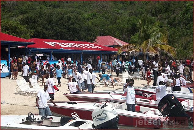 Norman Island's the original Treasure Island for lunch