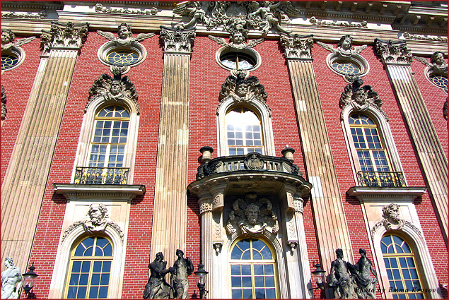 New Palace built by Frederick the Great