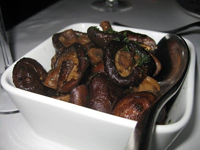 Sauteed seasonal mushrooms