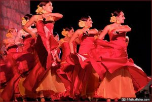 Spirit of Fiesta dancers at Fiesta Pequena