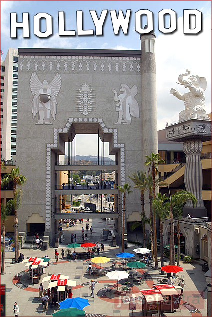 Hollywood & Highland—home to the Kodak Theatre