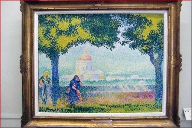 The Church of Santa Maria Degli Angeli, 1909 - Henri Edmond Cross