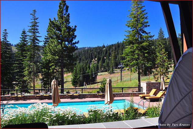 Spa pool at Ritz-Carlton Club Lake Tahoe