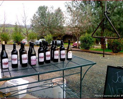 Wine in Amador County in California's Gold Country