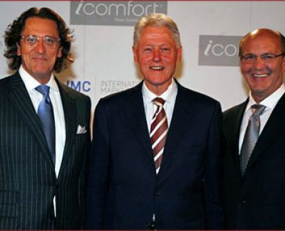 President Clinton was the Keynote Speaker at the Las Vegas World Summer Market Center