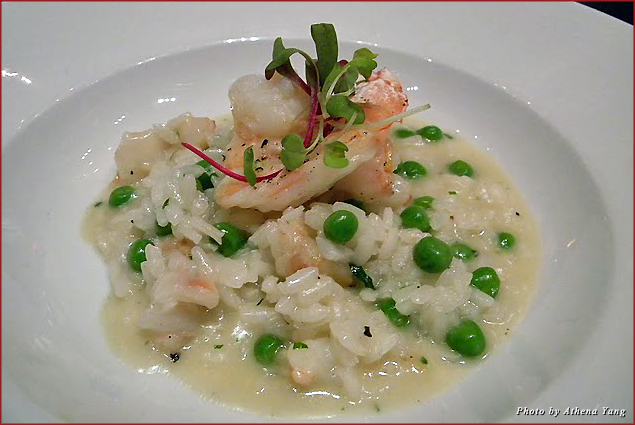 Gulf shrimp risotto