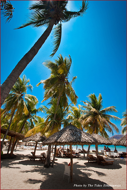 Palm-lined Playa La Ropa provides visitors with the perfect blend of watersports and relaxation