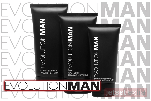 The Perfect Shave kit an exclusive collection of grooming products from EVOLUTIONMAN
