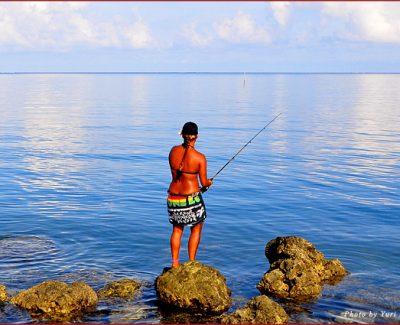 Fishing in Palau