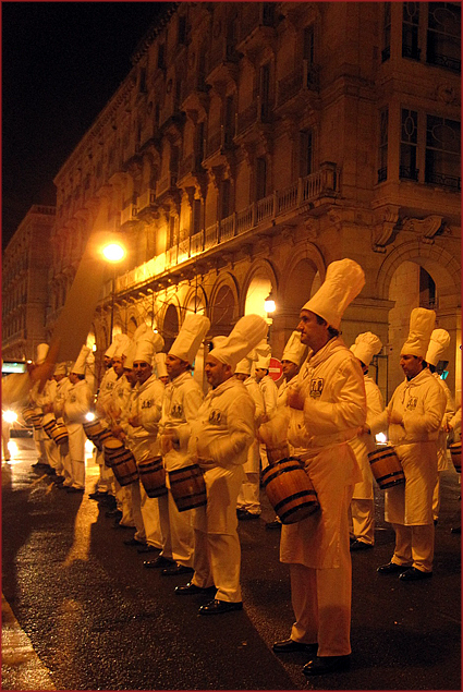 Chefs drumming up a street party