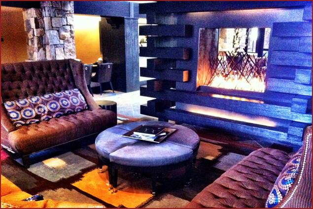 Relax in the lobby of Sebastian