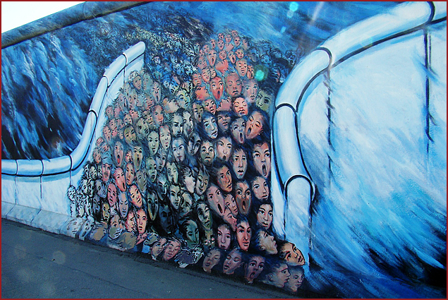 Berlin Wall's East Side Gallery