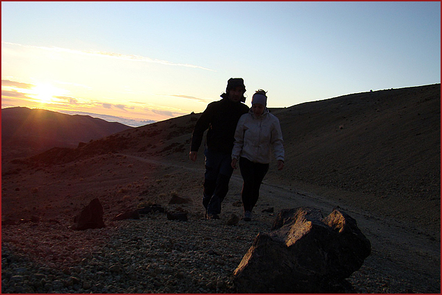Sunrise on Teide